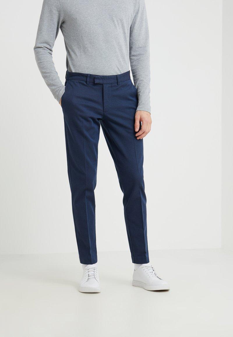J.LINDEBERG - GRANT DYED GAB - Trousers - deep blue