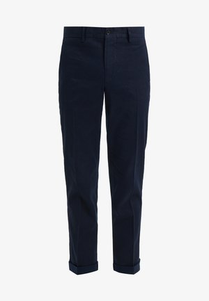 GRANT STRETCH - Trousers - navy