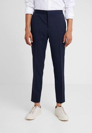 SASHA GRAD - Oblekové kalhoty - navy
