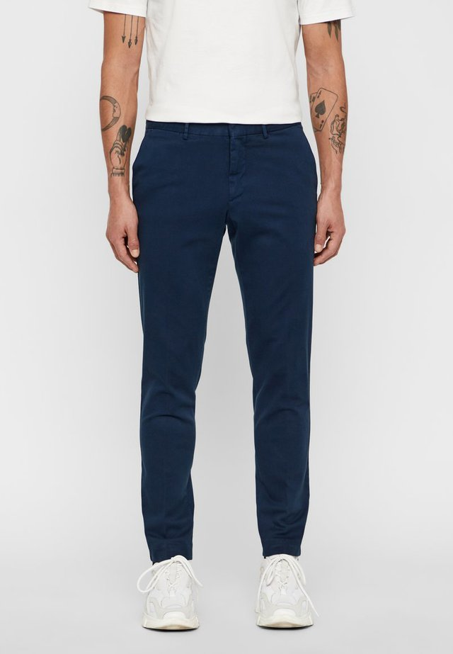 GRANT SEASON - Chinos - navy
