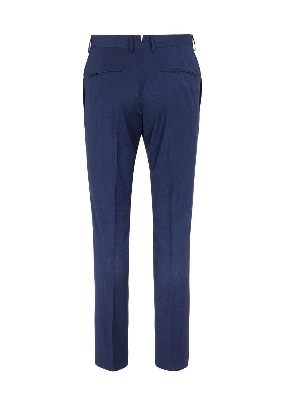 J.LINDEBERG J.LINDEBERG ANZUGHOSE GRANT WOOL - Suit trousers - mid blue