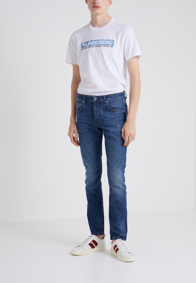 J.LINDEBERG - CEDAR FRYE - Jeans slim fit - mid blue