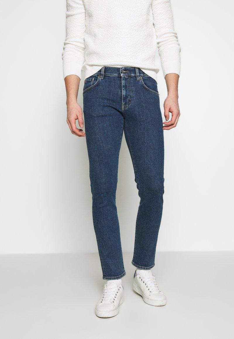 J.LINDEBERG - JAY CRIKEY - Jeans slim fit - mid blue