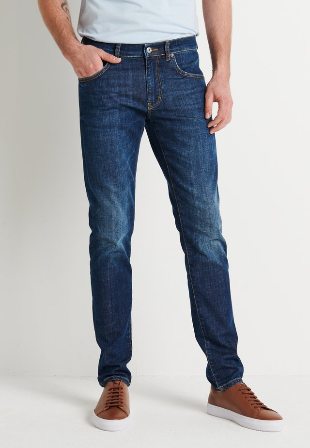 JAY FLEET - Džíny Slim Fit - mid blue