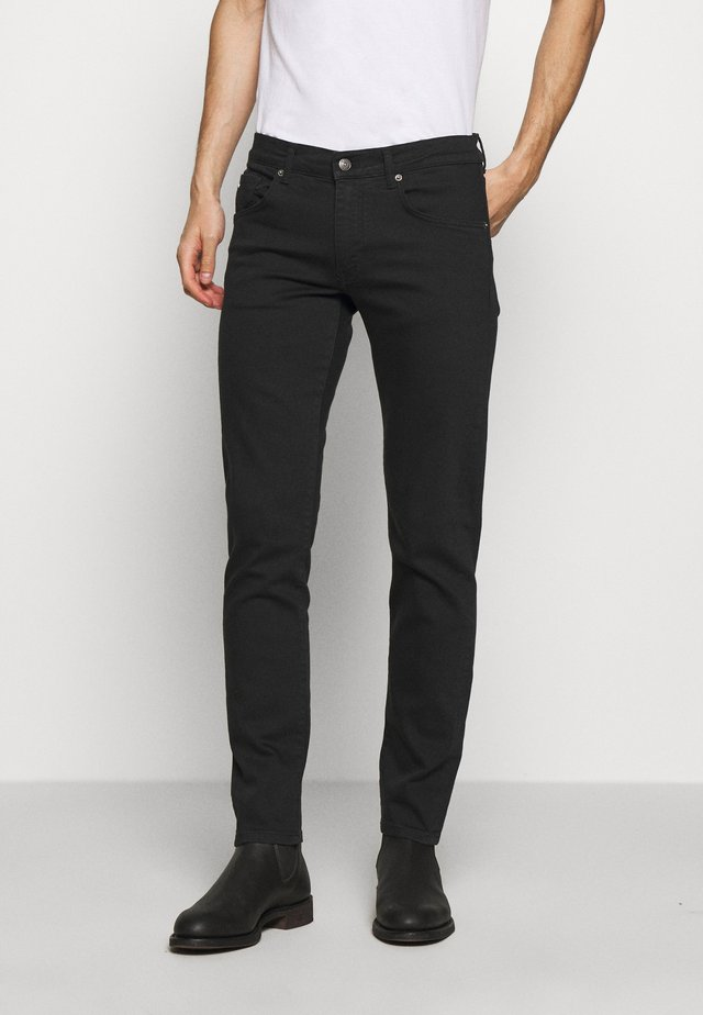 JAY SOLID - Džíny Slim Fit - black
