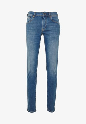 DAMIEN BROKEN - Jeans slim fit - mid blue