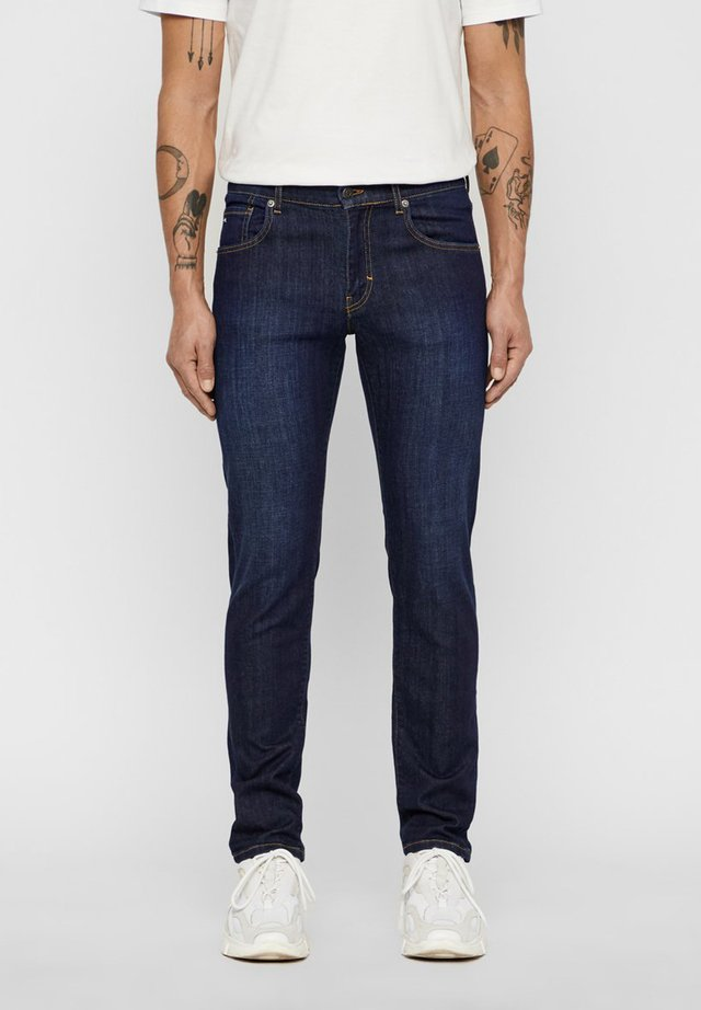 JEANS JAY BLUING - Slim fit jeans - mid blue