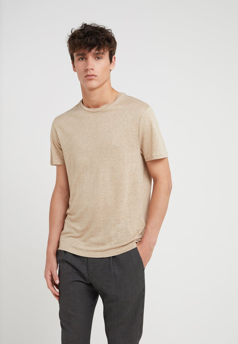 J.LINDEBERG - COMA CLEAN - T-Shirt basic - white pepper