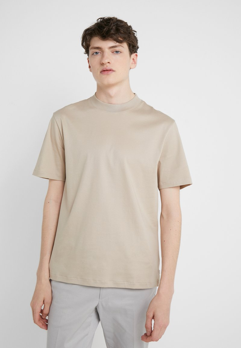 J.LINDEBERG - ACE SMOOTH - T-shirt basique - oxford tan