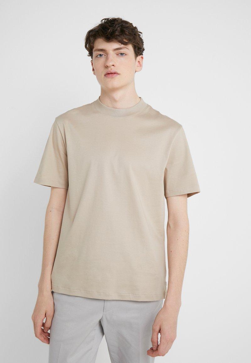 J.LINDEBERG - ACE SMOOTH - Basic T-shirt - oxford tan