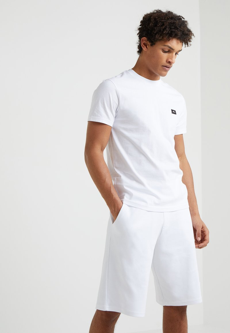 J.LINDEBERG - BRIDGE TEE  - T-Shirt basic - white