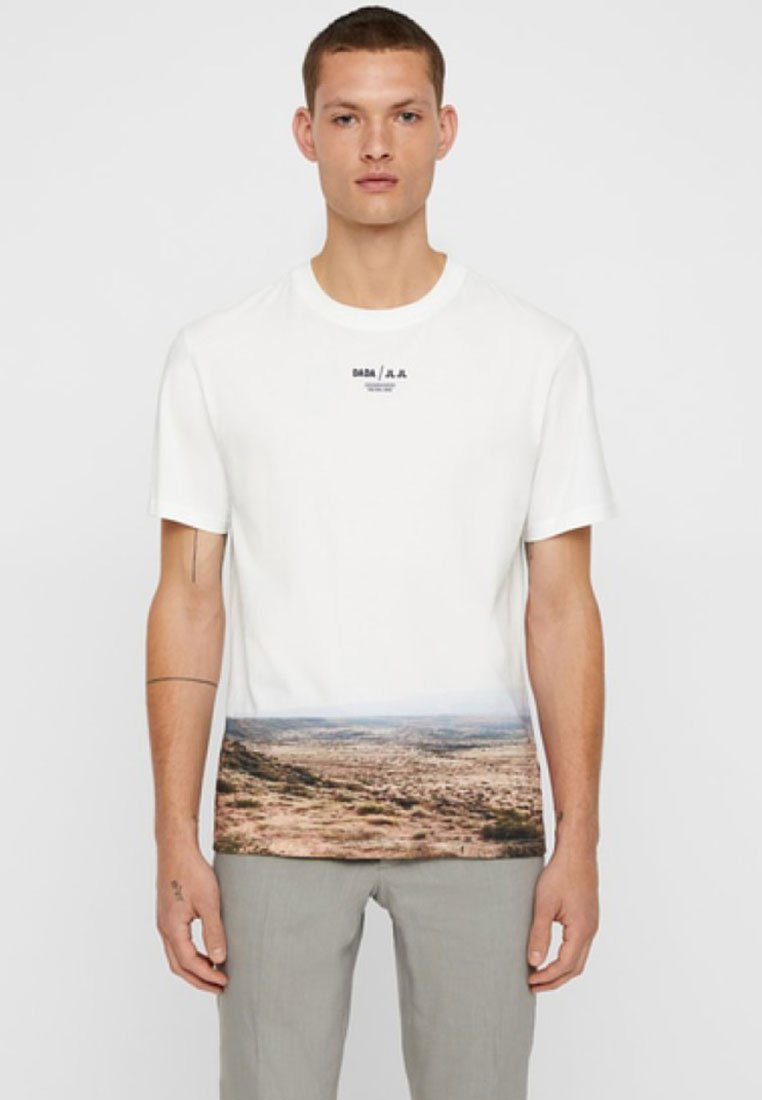 J.LINDEBERG - Print T-shirt - off-white