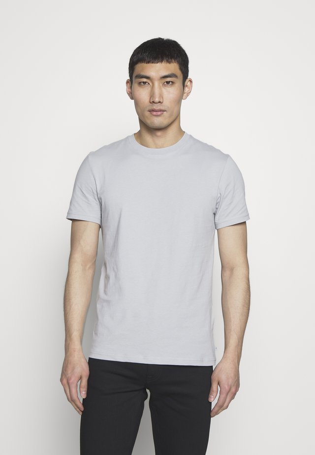 SILO - Basic T-shirt - stone grey