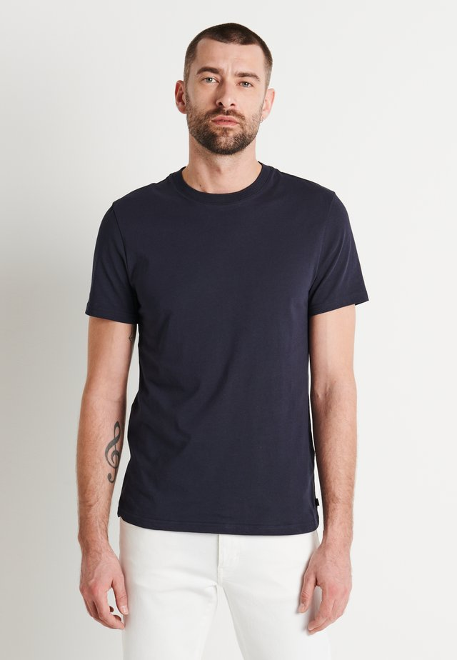 SILO - Basic T-shirt - navy