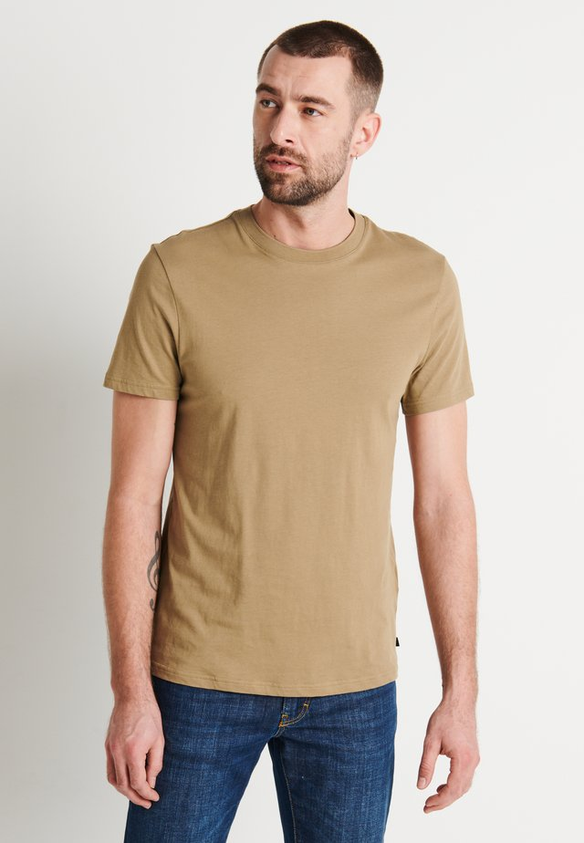 SILO - Basic T-shirt - covert green