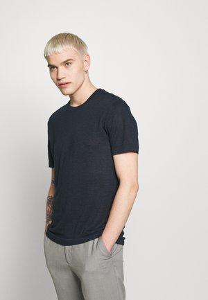 COMA - Basic T-shirt - navy