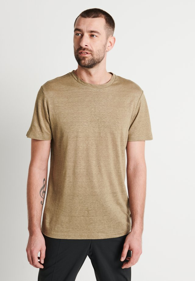 COMA - T-shirt basique - covert green