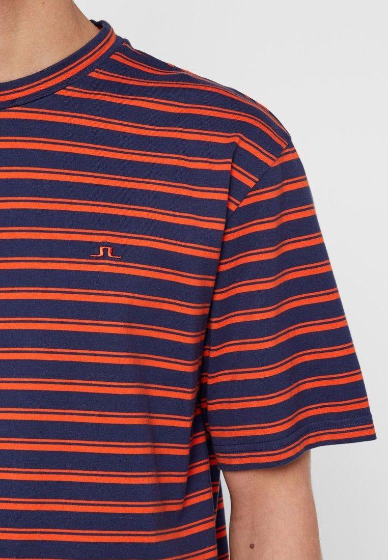 J.lindeberg Charles - T-shirt Med Print Fried Tomato
