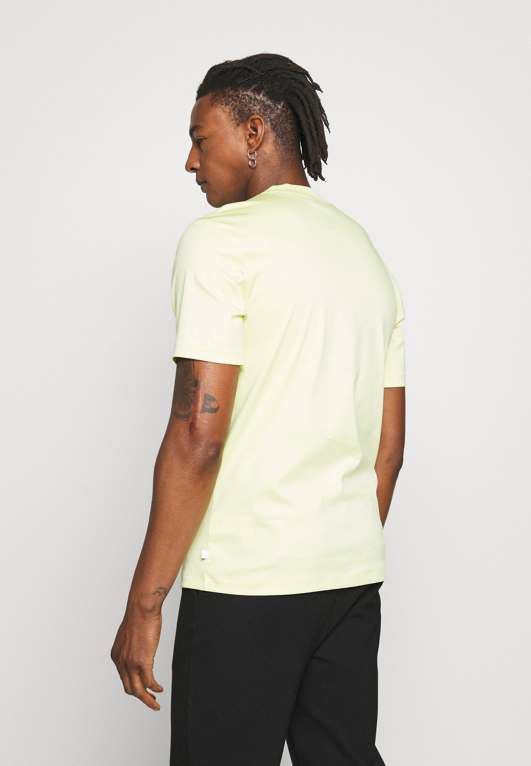 J.lindeberg Ace Smooth - T-shirt Basique Still Yellow i7uGlns