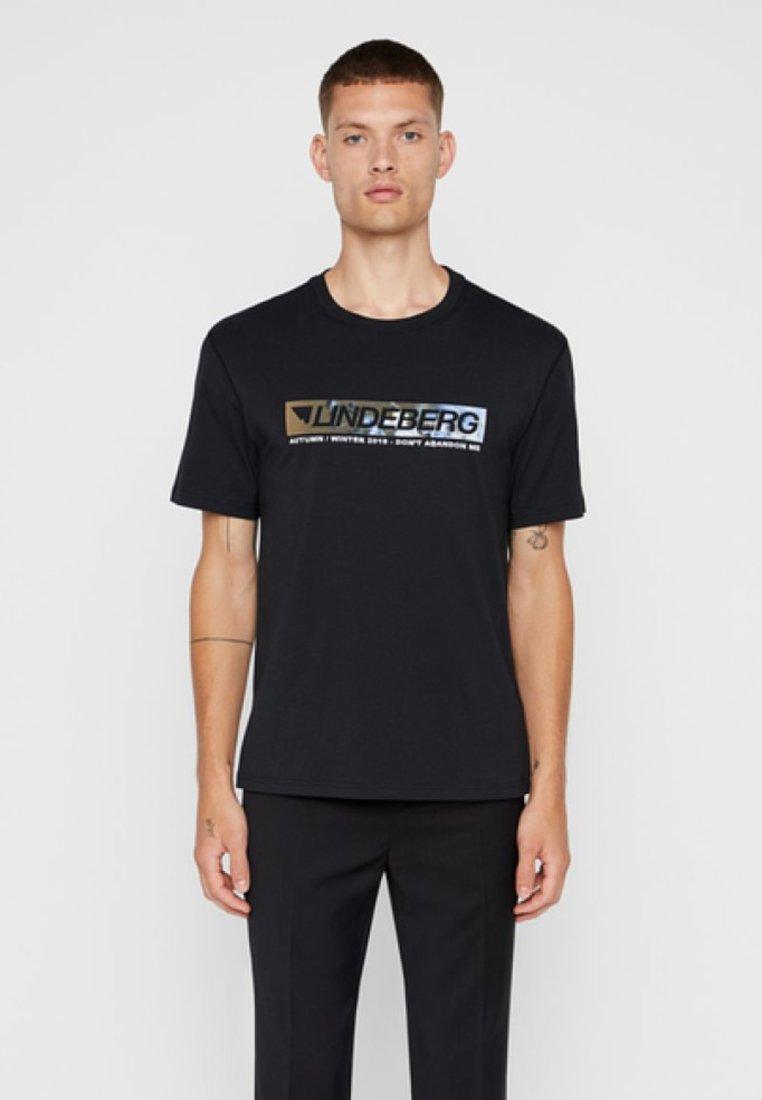 J.LINDEBERG - JORDAN - T-Shirt print - black