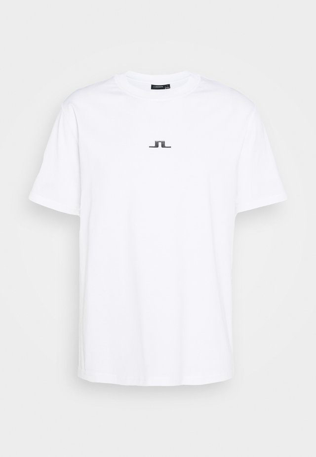 BRIDGE  - T-shirts - white
