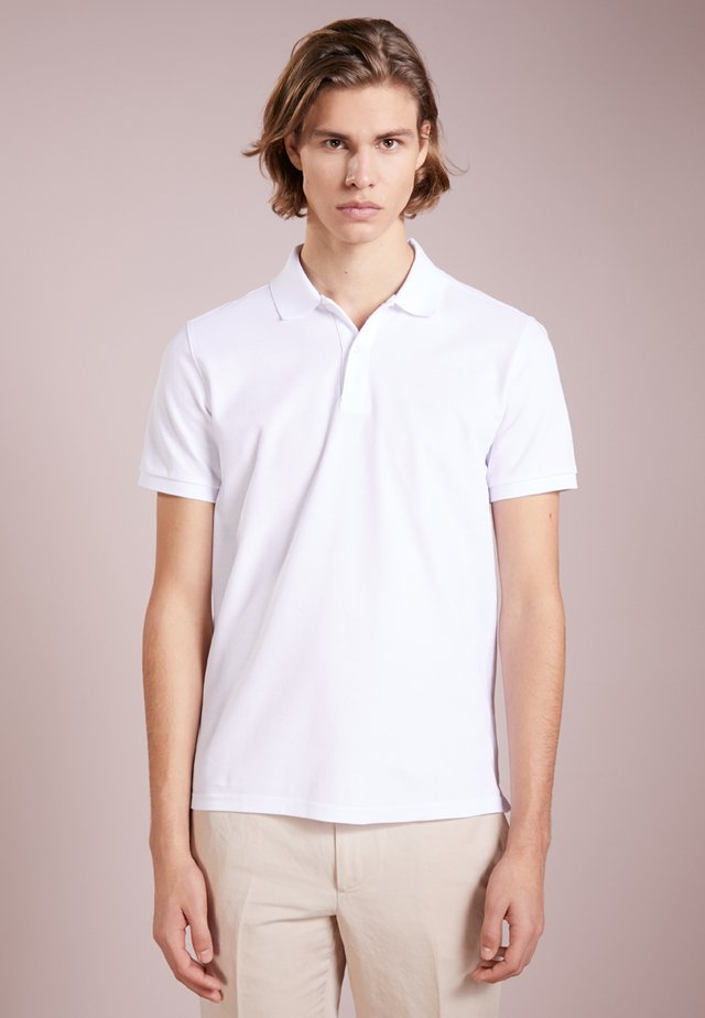 TROY CLEAN - Polo - white