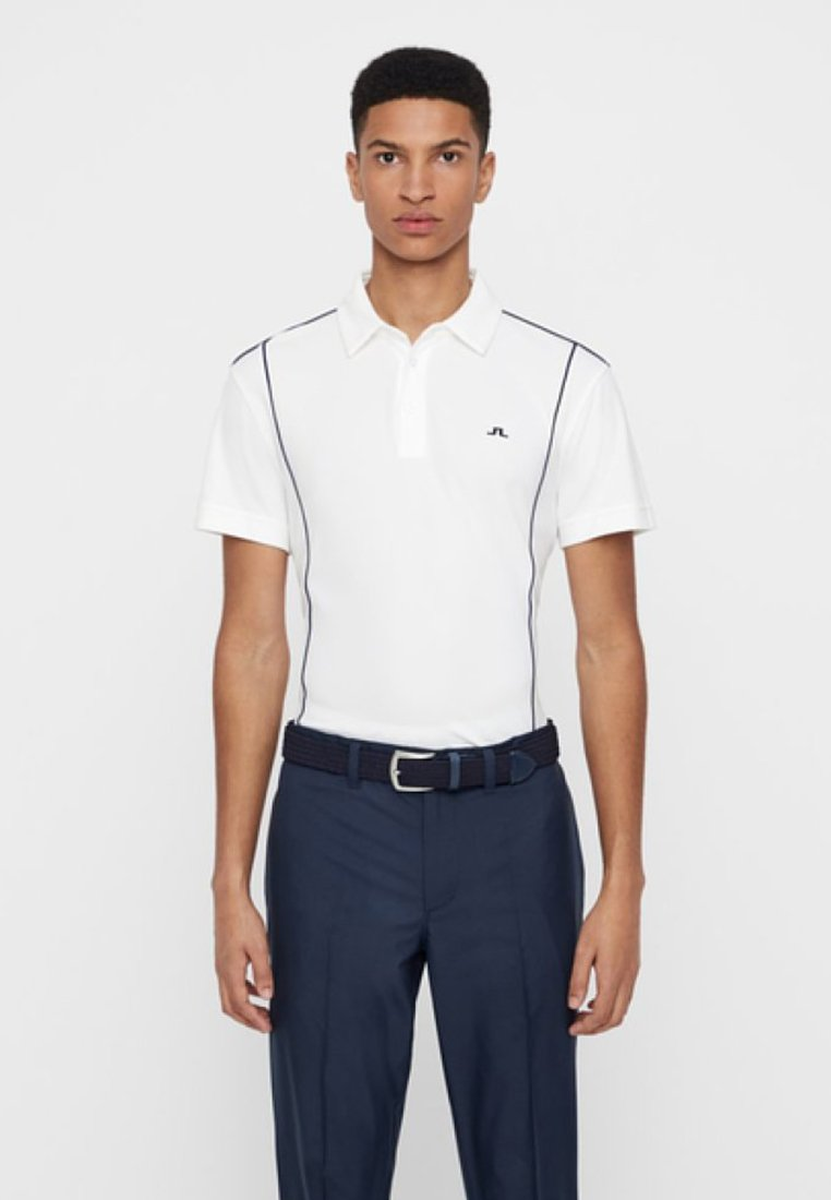 J.LINDEBERG - LUX PIQUE - Poloshirt - white