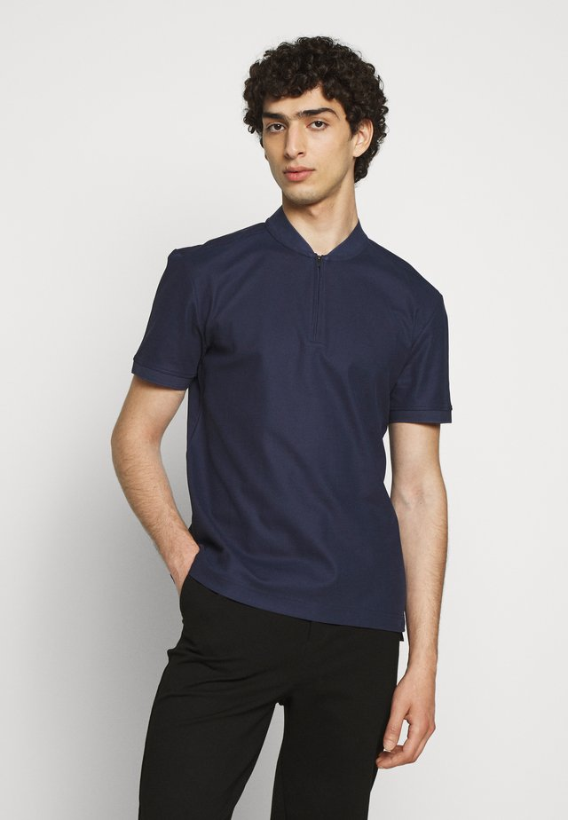 LEO CLEAN - Basic T-shirt - mid blue