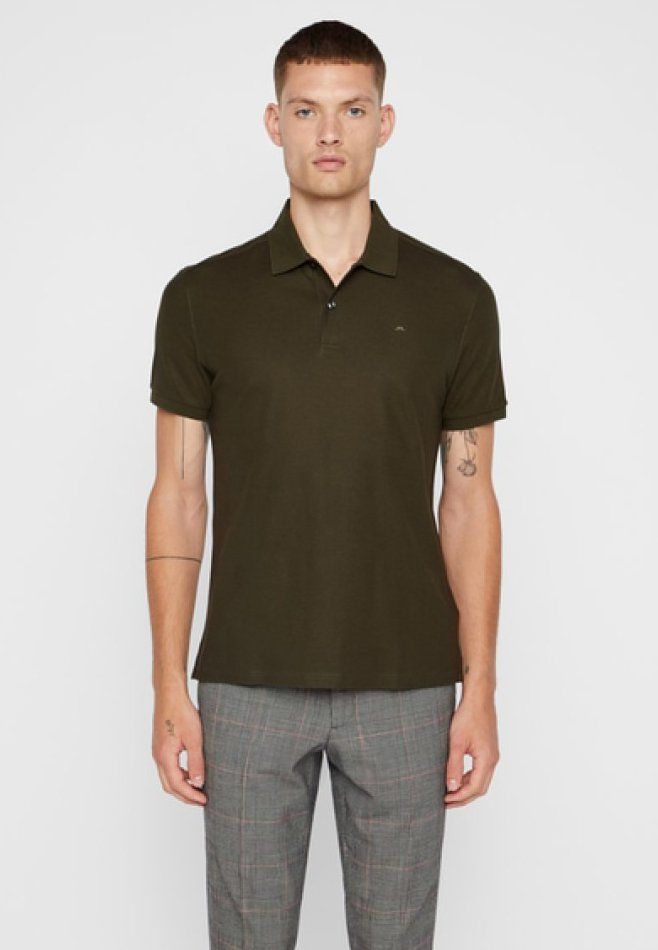 J.LINDEBERG - TROY  - Polo - forest green