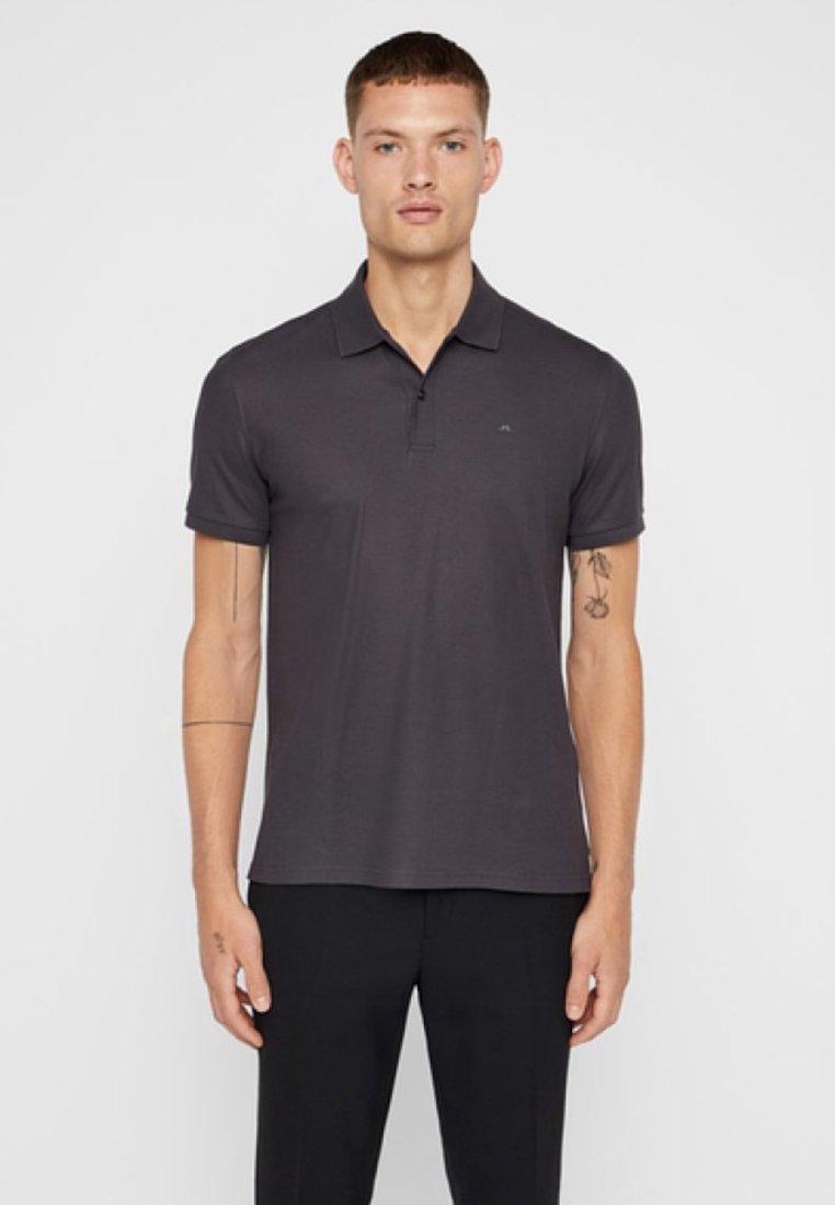 J.LINDEBERG - TROY  - Poloshirts - asphalt black