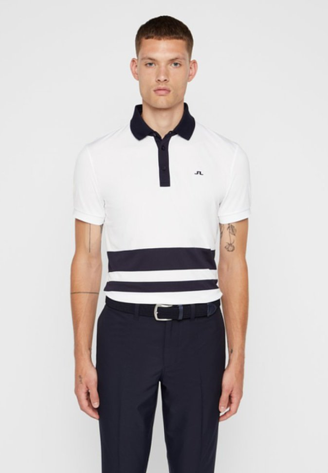 J.LINDEBERG - LUCAS  - Poloshirt - white
