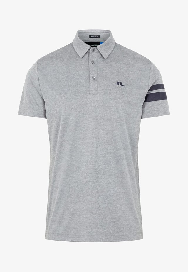 LOUI  - Poloshirts - stone grey melange