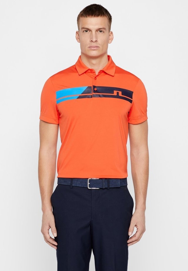 CLARK  - Polo shirt - tomato red