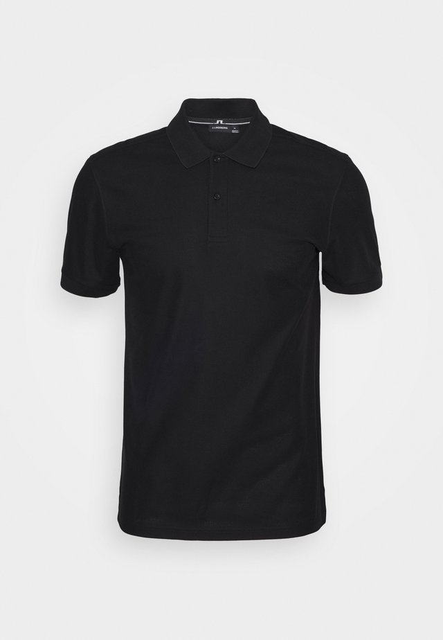 TROY - Polo shirt - black