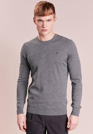 LYLE TRUE MERINO - Stickad tröja - grey melange