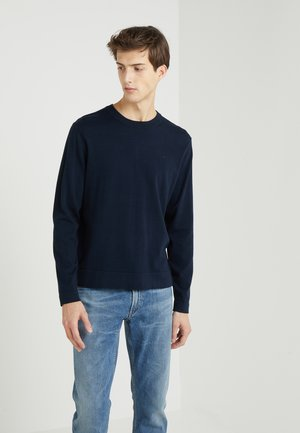 NIKLAS NECK REFINED - Pullover - navy
