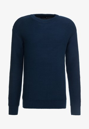 CASWELL TAPE - Strickpullover - navy