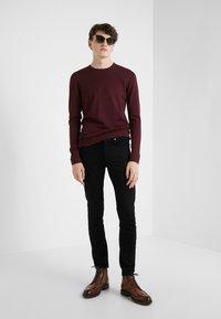 J.LINDEBERG - NECK PERFECT - Pullover - dark mocca - 1