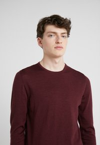 J.LINDEBERG - NECK PERFECT - Pullover - dark mocca - 3