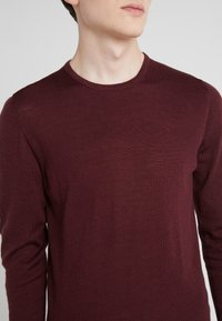 J.LINDEBERG - NECK PERFECT - Pullover - dark mocca - 5