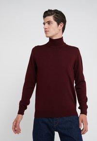 J.LINDEBERG - TRUE  - Pullover - dark mocca - 0