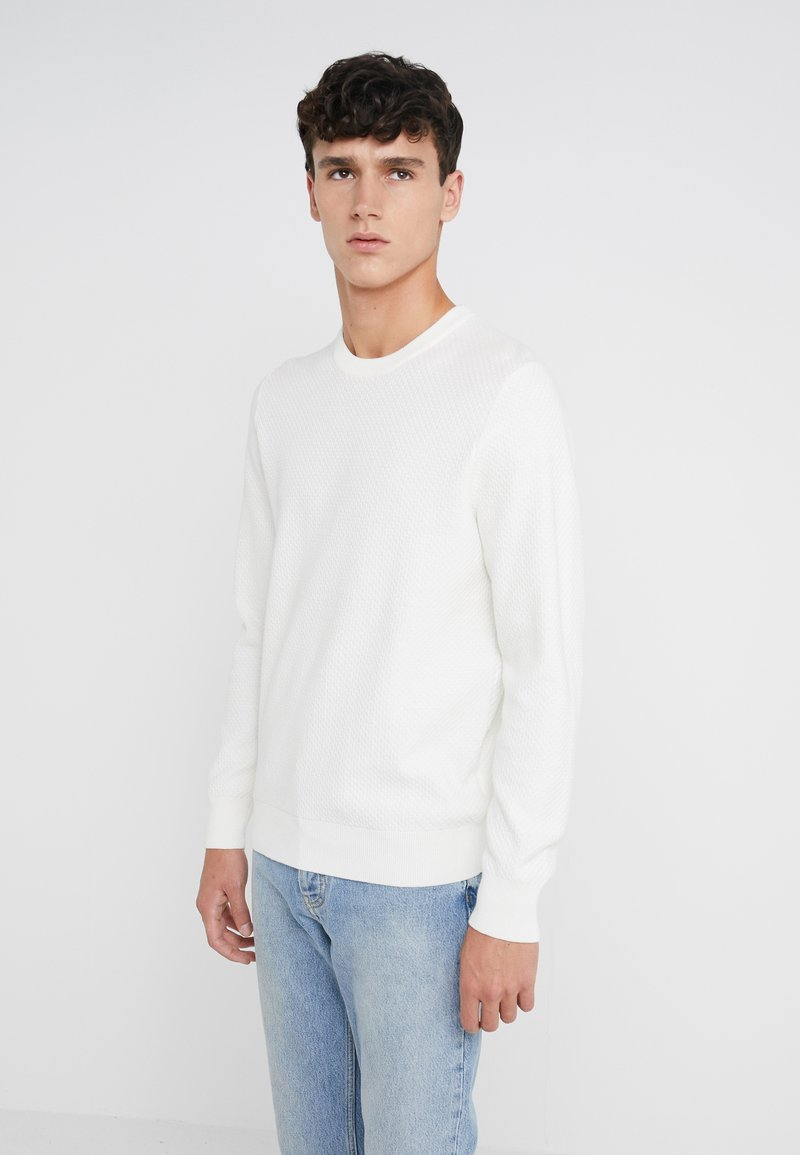 J.LINDEBERG - ARTHUR SMALL STRUCTURE - Strickpullover - cloud white
