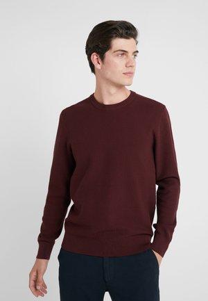 ARTHUR SMALL STRUCTURE - Stickad tröja - dark mocca