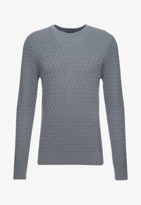 J.LINDEBERG - ARTHUR MINI STRUCTURE - Pullover - dark grey - 3