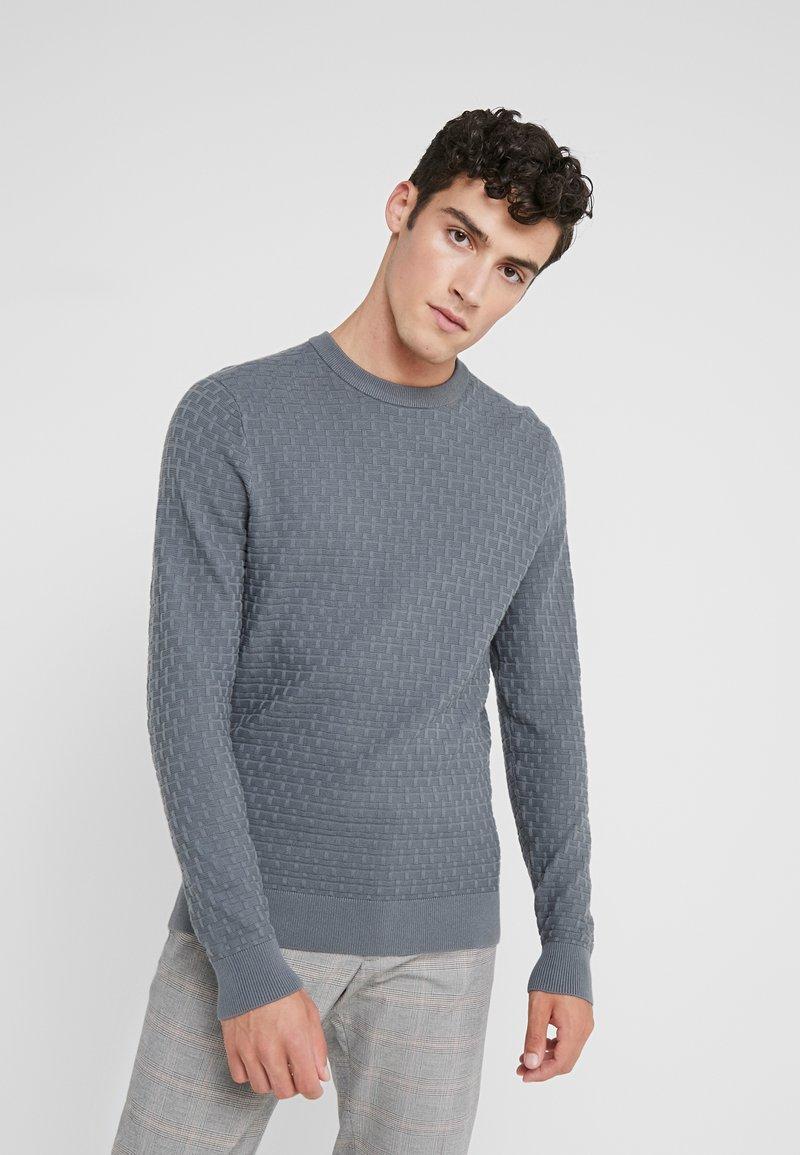 J.LINDEBERG - ARTHUR MINI STRUCTURE - Pullover - dark grey
