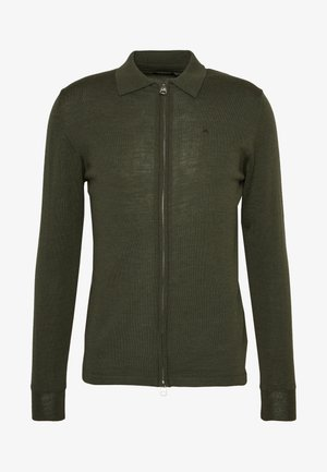 Cardigan - covert green