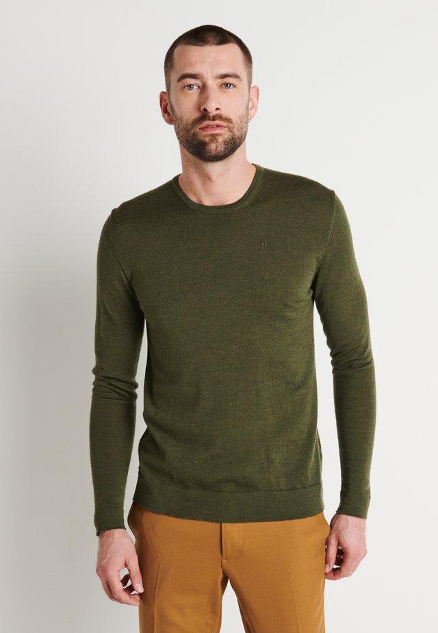 Trui - covert green
