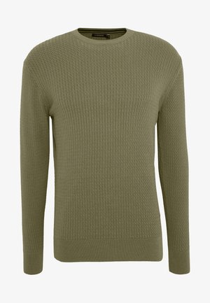ANDY SEMI STRUCTURE - Jumper - covert green