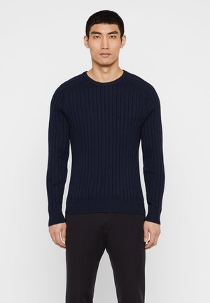 JACE CONTRAST  - Pullover - navy