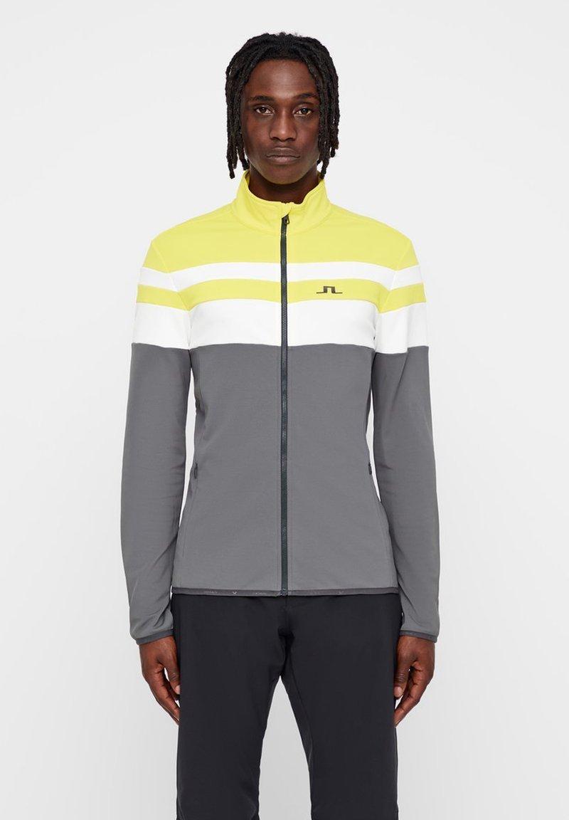 J.LINDEBERG - MOFFIT  - Training jacket - banging yellow